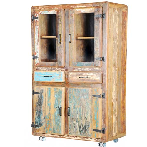 Order Now; ANTIQUE 2 DRAWERS GLASS CABINET - Indian Antique Furniture|jodhpur Antique Furniture