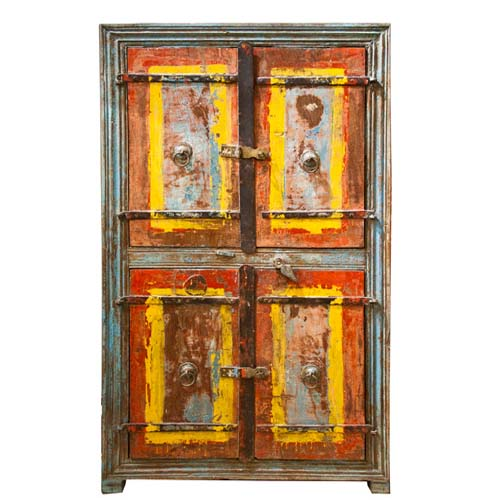 ANTIQUE DOUBLE DOOR CABINET