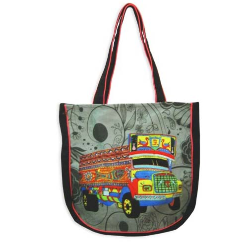 DIGITAL PRINTED CANVAS BAG