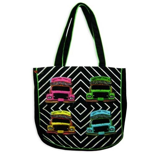 DIGITAL PRINTED CANVAS HAND BAG