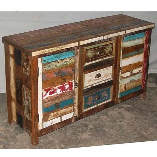 Reclaimed Painted Wood Furniture